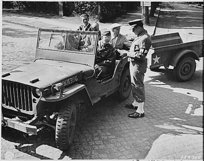 """American Bantam is credited for development of the """"jeep"""" concept but lost out on the big military contract for the standardized WWII """"jeep.""""  What they did get was the contract to produce the trailers for the """"jeep.""""  During the war, American Bantam produced approximately 74,000 T3 trailers for the U.S. military."""