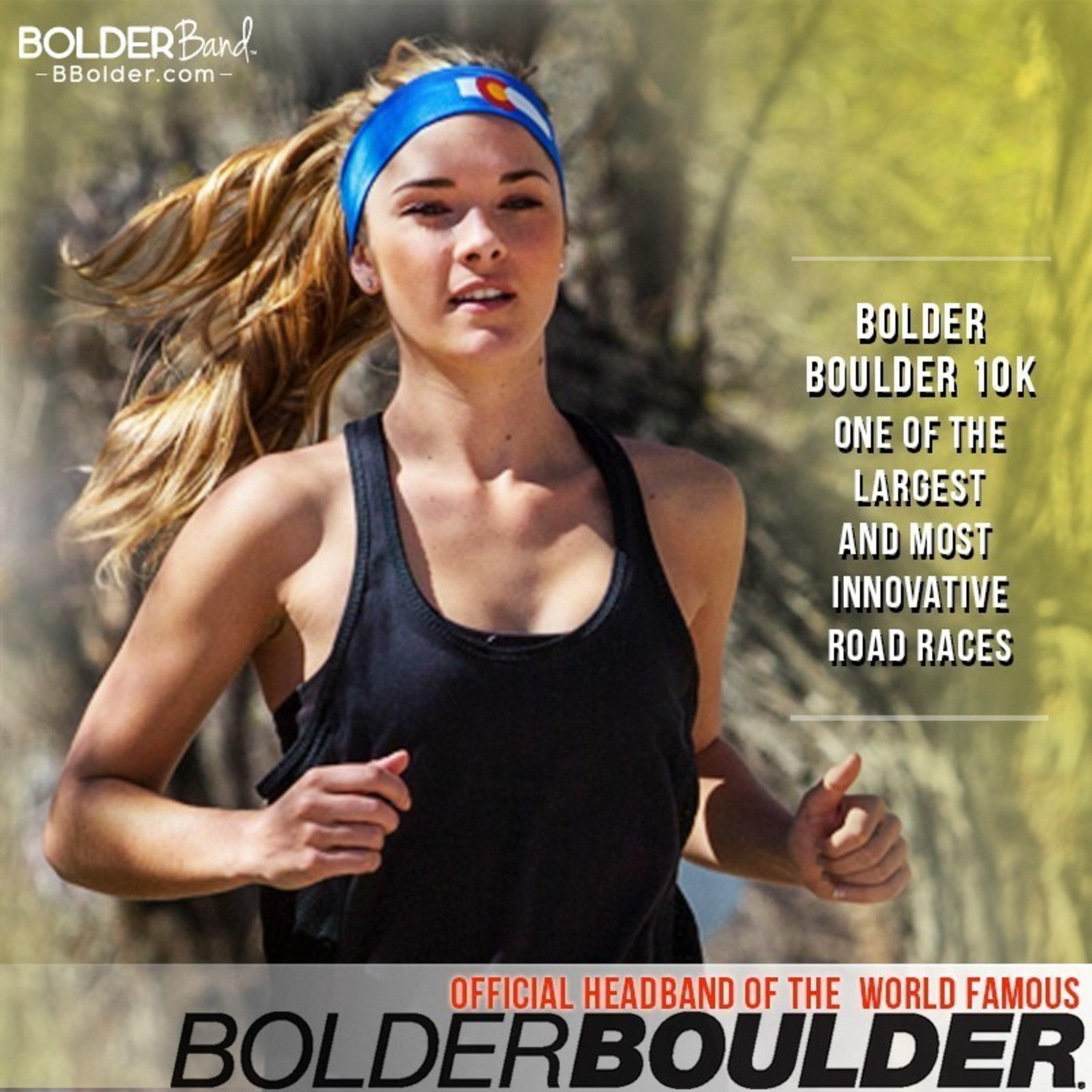 BolderBoulder Bolder Band Headband Official Headband of the BolderBoulder