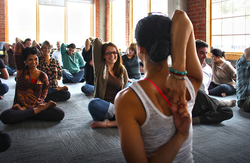 Creative Firm Takes Its Mantra to the Mat with New Yoga Pose