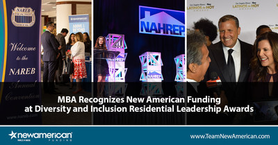 MBA Recognizes New American Funding at Diversity and Inclusion Awards