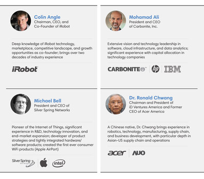Highlights of iRobot Directors' Expertise and Experience