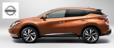 Following a complete redesign for the new model year, the 2015 Nissan Murano will soon arrive at Robbins Nissan near Houston, Texas. (PRNewsFoto/Robbins Nissan)