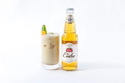 The Stella Artois Cidre Coconut Spice by Chef Michael Gulotta of MOPHO in New Orleans, LA. (Photo credit: Kristjan Veski for Stella Artois)