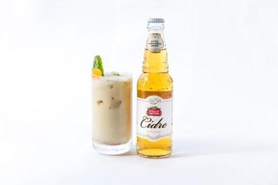 The Stella Artois Cidre Coconut Spice by Chef Michael Gulotta of MOPHO in New Orleans, LA. (Photo credit: Kristjan Veski for Stella Artois)