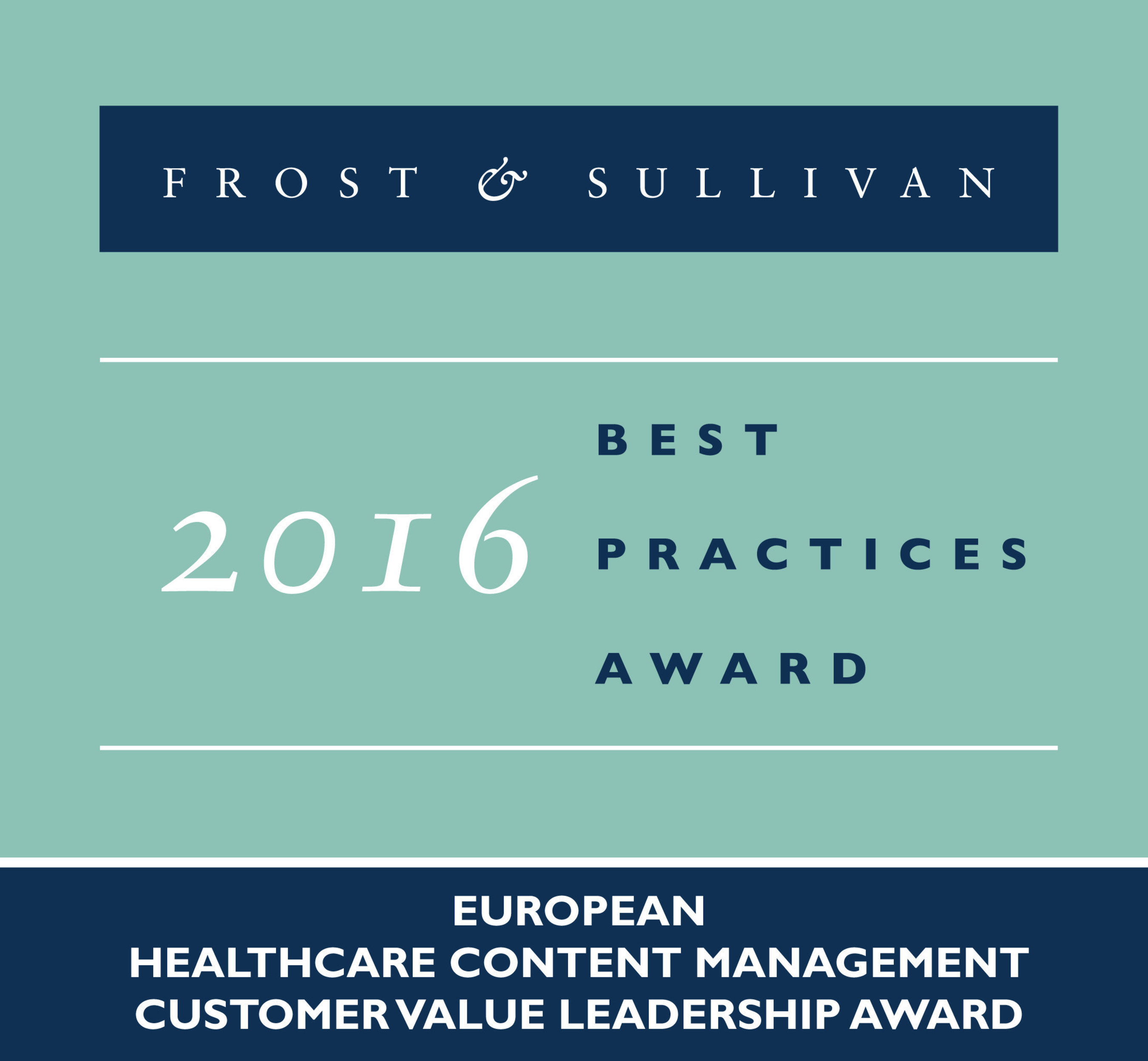 BridgeHead Software Receives Frost & Sullivan Award for Customer Value Leadership in the European