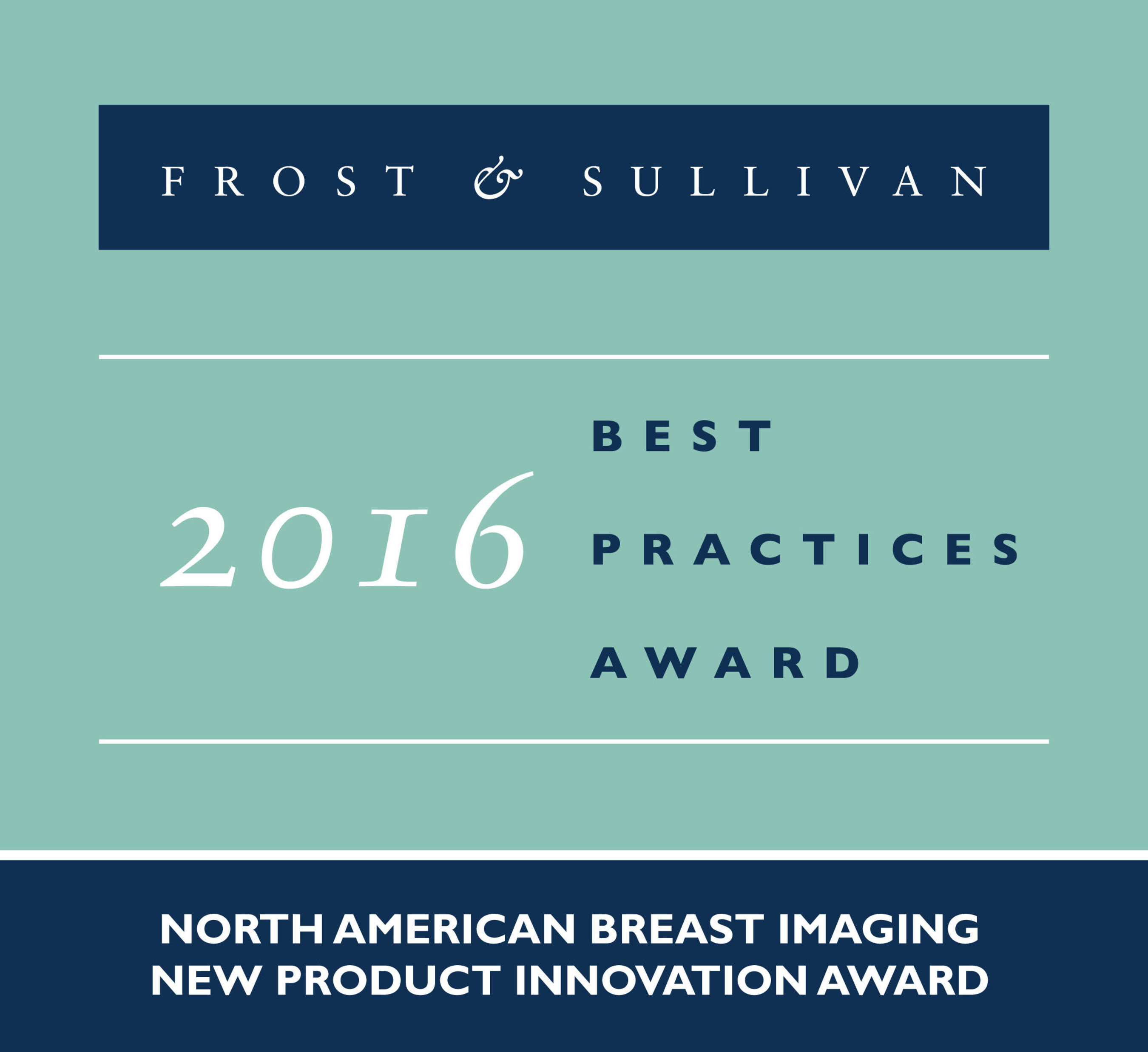 Koning Corporation Receives 2016 North American Breast Imaging New Product Innovation Award