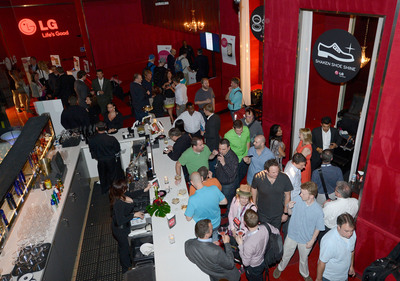 CTIA guests mingle at the Recharge, Refresh & Remix with LG Event at PURE Nightclub on Wednesday, May 22, 2013 in Las Vegas, Nevada (Photo by Jeff Bottari/Invision for LG/AP Images).  (PRNewsFoto/LG Electronics USA)