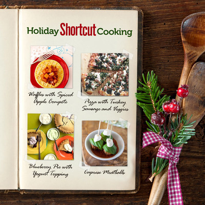 "Don't let holiday cooking stress you out. ""Chill"" with frozen and refrigerated foods. And follow NFRA's Easy Home Meals Instagram for a special Holiday Shortcut Cooking series."