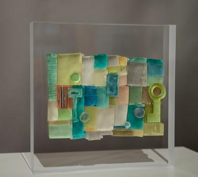 Sculpture that is 1st Chairman's Key Disruptor Award (PRNewsFoto/Intarcia Therapeutics, Inc.)