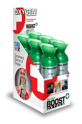 Boost Oxygen 22 ounce Natural Canisters