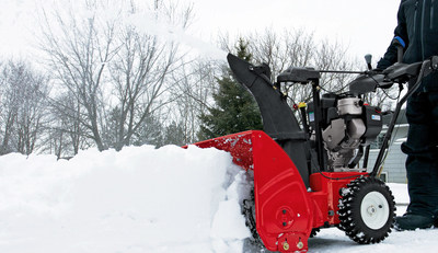 Pay attention to safety when using your snow blower, says the Outdoor Power Equipment Institute (OPEI).