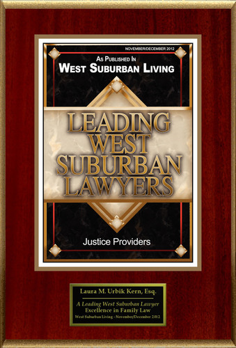 Laura M. Urbik Kern Selected For 'Leading West Suburban Lawyers'