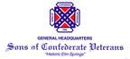 Sons of Confederate Veterans logo (PRNewsFoto/Ben Jones)