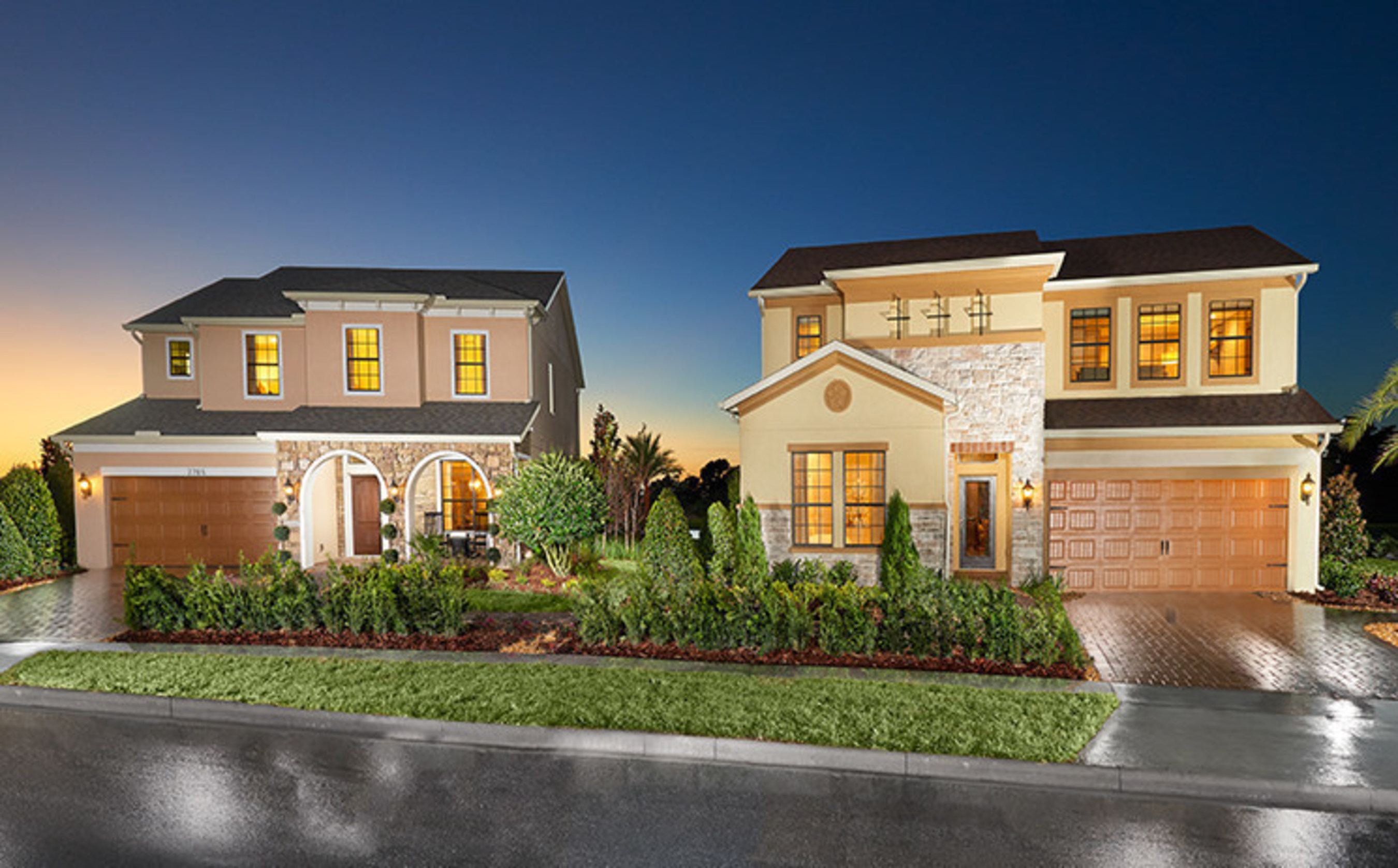 Standard Pacific Homes Debuts Five New Home Designs In Kissimmee's Master-Planned Community Of Eagle Lake