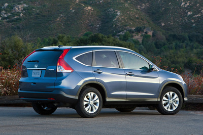 The 2013 Honda CR-V.  (PRNewsFoto/American Honda Motor Co., Inc.)