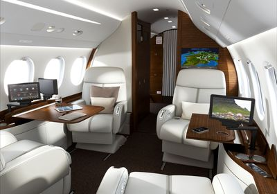 The new FalconCabin HD+ cabin management system.
