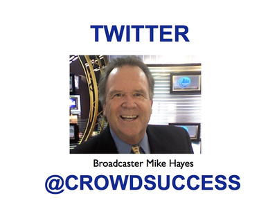 Broadcaster Mike Hayes photo.  (PRNewsFoto/Good Day Crowdfunding)