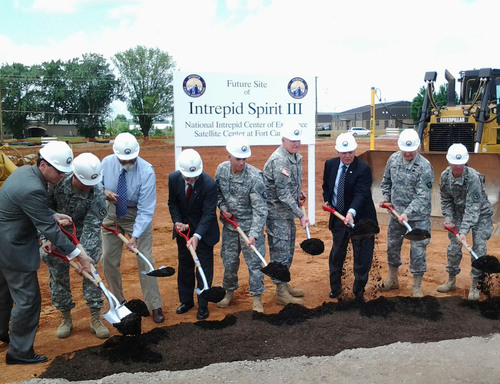 Intrepid Fallen Heroes Fund Breaks Ground At Fort Campbell, KY For New Brain Injury Center To Treat