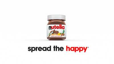 "Check back on the Nutella USA YouTube page as a new ""Spread the Happy"" video rolls out each week starting today."