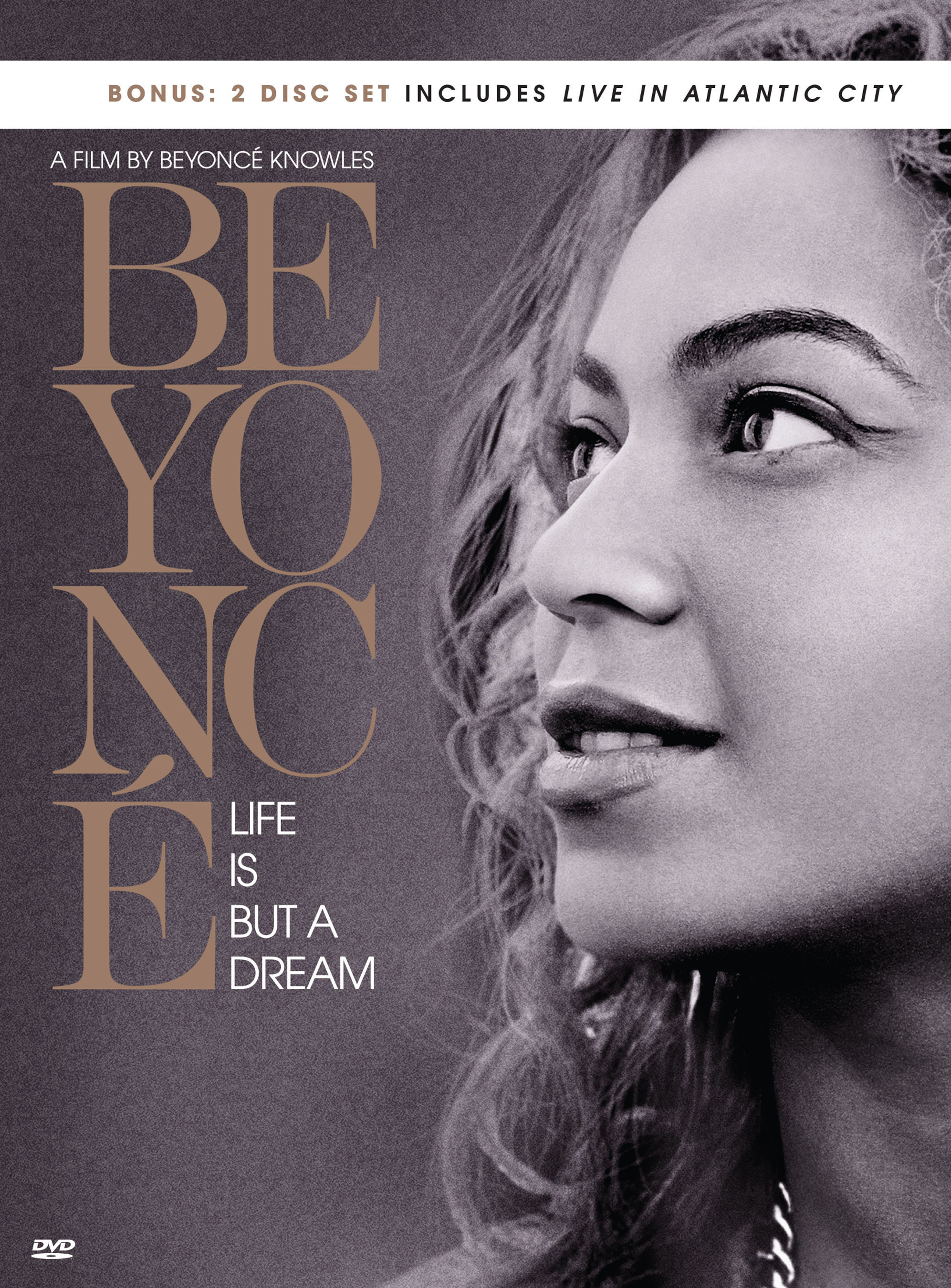 """""""BEYONCE - LIFE IS BUT A DREAM"""" 2 DISC DVD SET Available Everywhere November 25. (PRNewsFoto/Parkwood Entertainment/Columbia Records) (PRNewsFoto/PARKWOOD ENTERTAINMENT...)"""