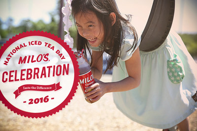 Milo's Tea Company is celebrating National Iced Tea Day on June 10 with a tea giveaway.