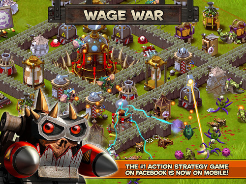 Wage War In Backyard Monsters: Unleashed Now Available On IPhone, IPad And  IPod Touch