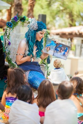Mermaid University is part of the fun at Summer Beach Party at the Fairmont Scottsdale Princess in Arizona, where this luxury resort is opening its sixth and largest pool, the 7,000 sq. ft. Sunset Beach, with 830 tons of white sand Memorial Day weekend, with  activities every weekend, all summer long.