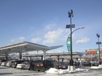 Solaire Generation recently installed a 325 kW solar carport system at the new Whole Foods Market in Brooklyn, New York.  (PRNewsFoto/Solaire Generation)