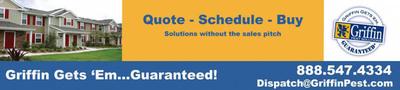 Griffin Pest Solutions.  (PRNewsFoto/Griffin Pest Solutions)