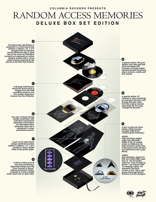 Columbia Records to release Daft Punk's Random Access Memories Deluxe Box Set Edition.  (PRNewsFoto/Columbia Records)
