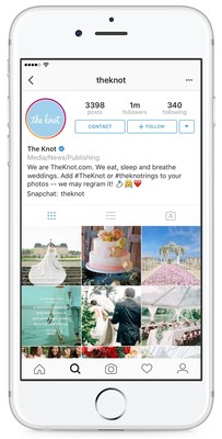 Social Media on the Rise for Brides From the Moment They Accept the Ring Through the Honeymoon, According to The Knot Social Media Survey 2016