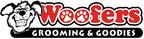 Woofers Grooming & Goodies Logo.