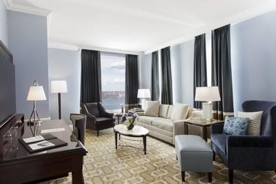 Boston Harbor Hotel's Harborview Suite