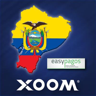 Xoom Corporation (NASDAQ: XOOM), a leading digital money transfer provider, today announced that Easypagos, through its partnership with Transnetwork Corporation, is offering Xoom's international money transfer services at more than 100 Easypagos locations in Ecuador.  The partnership expands Xoom's payout network to more than 1,000 locations in Ecuador, including banks such as Banco Pichincha and Banco de Guayaquil.  Xoom Corporation (NASDAQ: XOOM), un proveedor mundial de envios de dinero por Internet, ha empezado a ofrecer envios internacionales de dinero a mas de 100 puntos de pago de Easypagos en Ecuador a traves de su asociacion con Transnetwork.  (PRNewsFoto/Xoom Corporation)