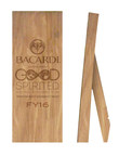 Recycled oak trophies awarded to Bacardi employees in recognition of winning sustainability initiatives for the annual Bacardi Limited Good Spirited Awards