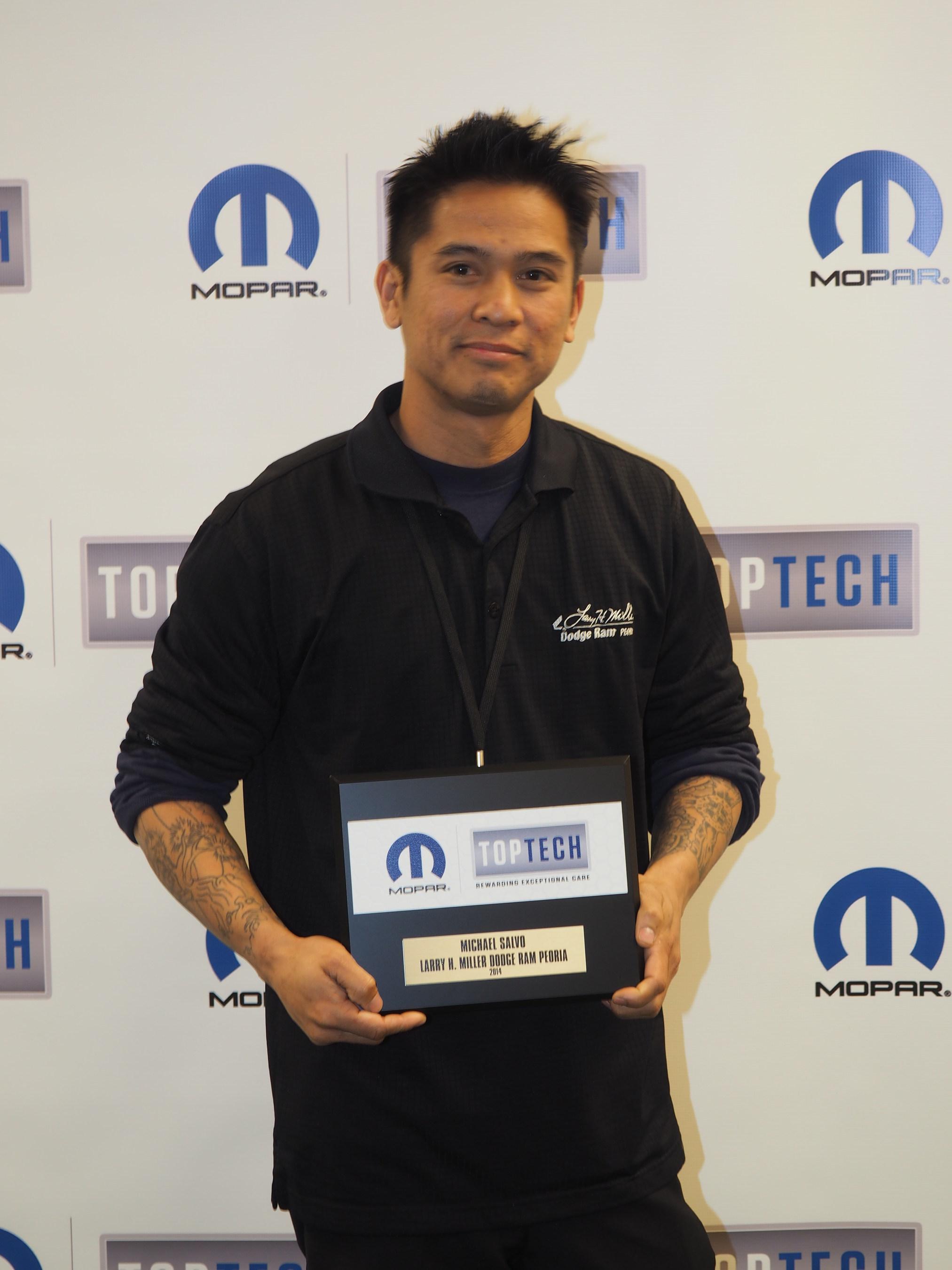 Arizona FCA US Technicians Salvo and Serra Earn Mopar Top Tech Honors