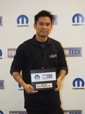 Larry H Miller Dodge Peoria >> Arizona FCA US Technicians Salvo and Serra Earn Mopar 'Top Tech' Honors