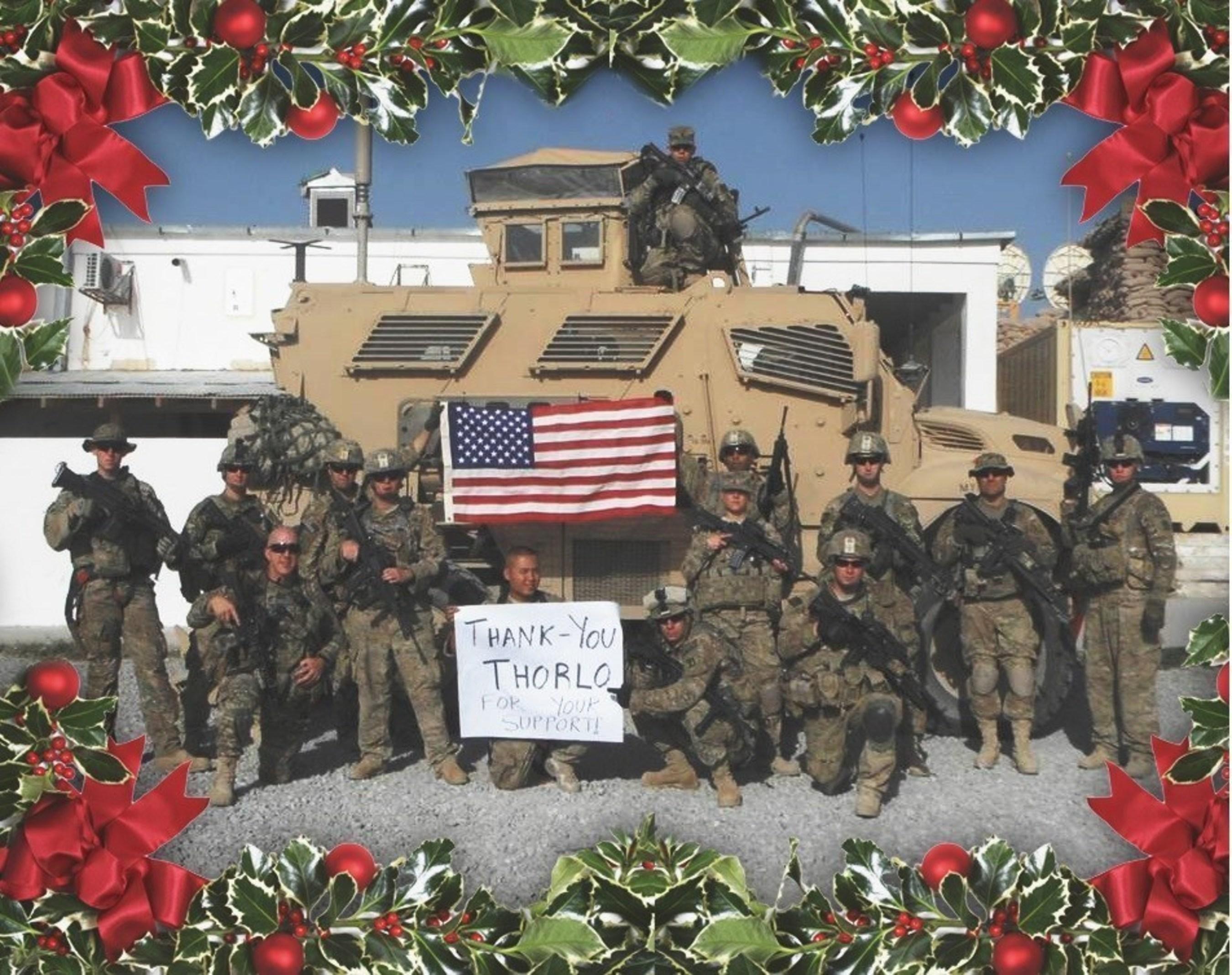 Troops Thank Thorlos
