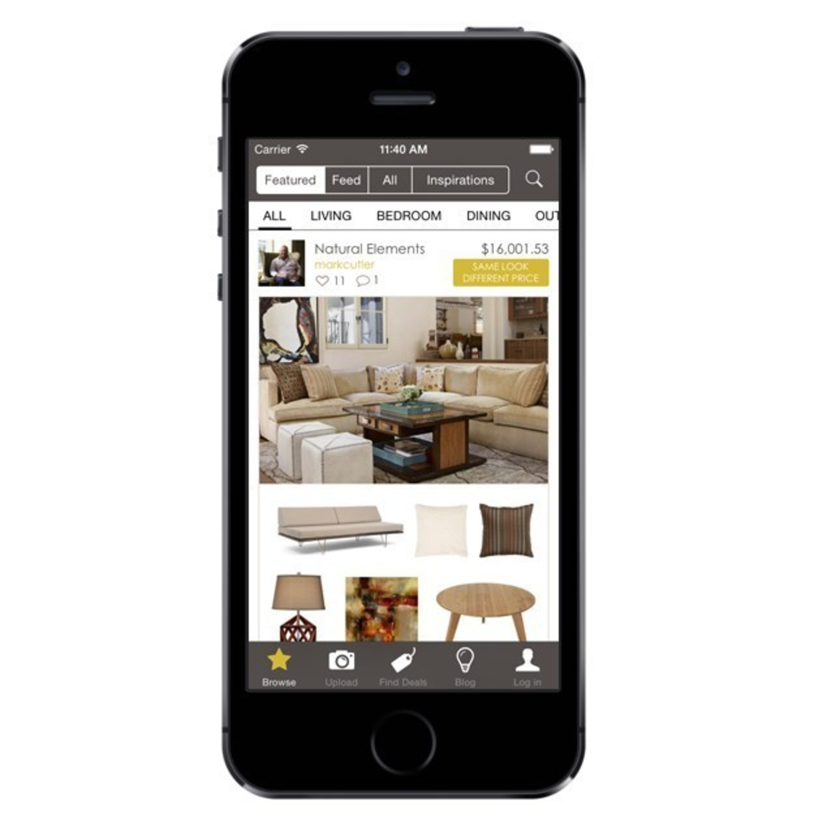 Elegant NousDECOR(R) Launches Mobile App For Crowd Sourced Interior Design And Home  Decorating