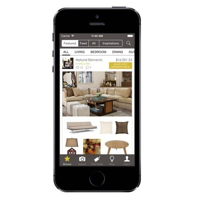 nousdecor launches mobile app for crowd sourced interior