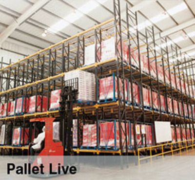 Pallet Live Racking.  (PRNewsFoto/Bradfield Storage Handling Ltd)