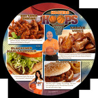 Hooters 2011 Spring Limited Time Offer Menu.  (PRNewsFoto/Hooters of America, LLC)