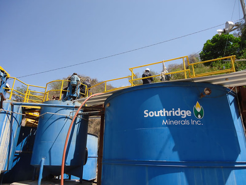 Southridge Minerals Inc., 60 ton per day mill in Cinco Minas, Mexico. Cinco Minas property was mined between ...