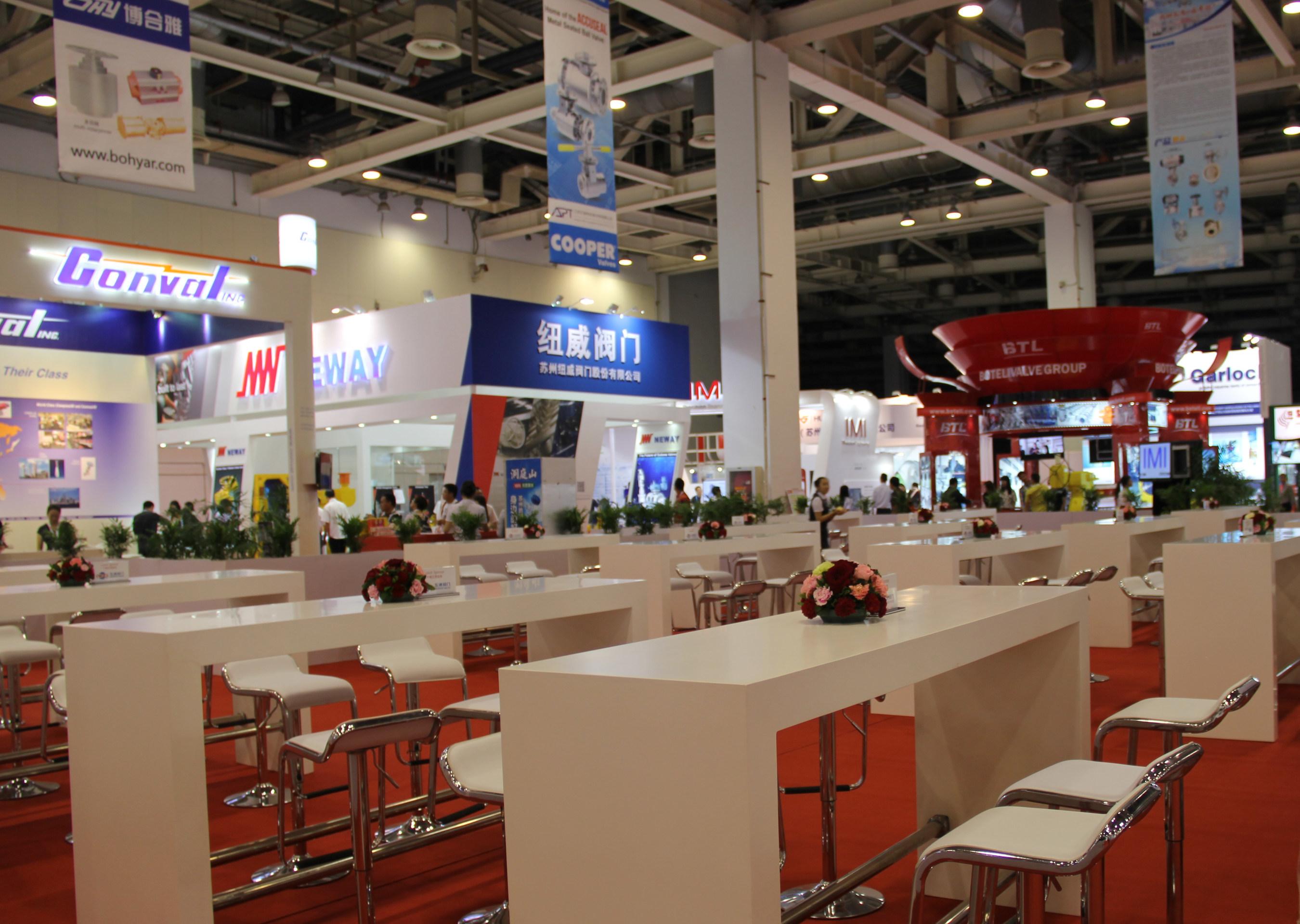 Valve World Expo & Conference Asia 2015 im Suzhou International Expo Center erfolgreich