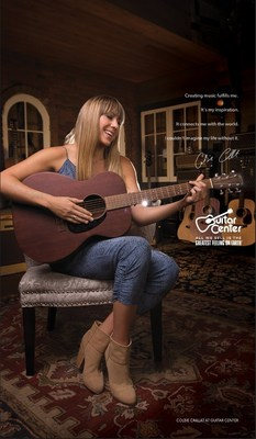 "GUITAR CENTER ANNOUNCES GRAMMY AWARD WINNING RECORDING ARTIST COLBIE CAILLAT AS THE NEXT AMBASSADOR IN ""GREATEST FEELING ON EARTH"" CAMPAIGN"