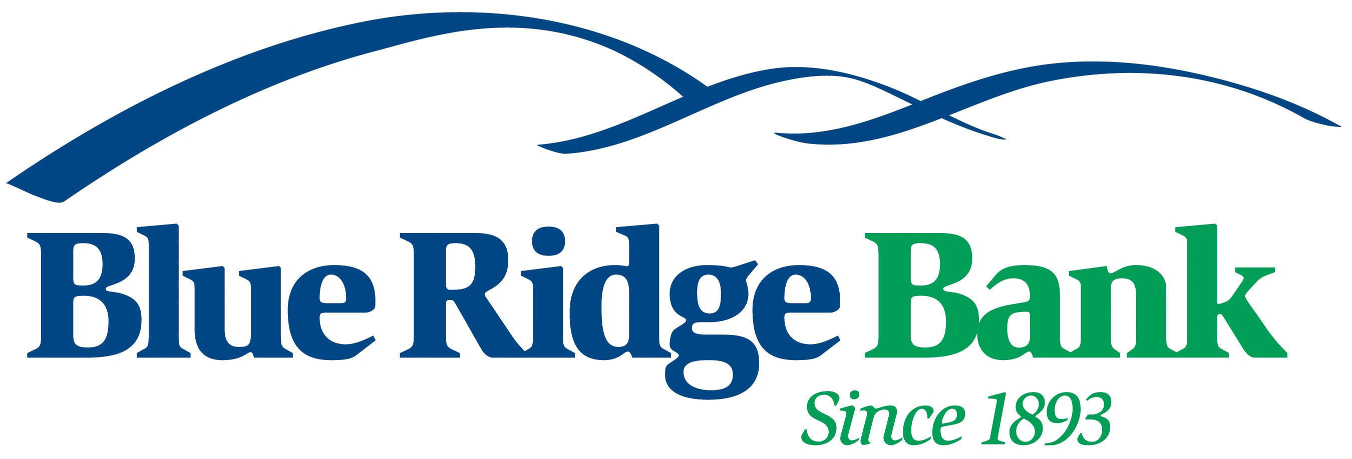 Blue Ridge Bank, since 1893.