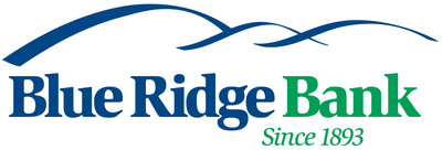 Blue Ridge Bank, since 1893. (PRNewsFoto/Blue Ridge Bankshares, Inc.)