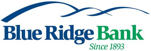 Blue Ridge Bank, since 1893. (PRNewsFoto/Blue Ridge Bankshares, Inc.) (PRNewsFoto/)