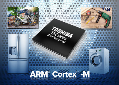 The M4K products in Toshiba's TXZ family of high-speed, low power consumption microcontrollers feature Vector Engine technology for multiple-motor control.