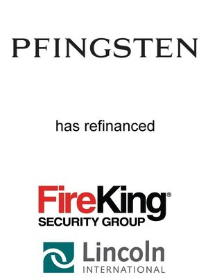 Lincoln International represents FKI Security Group, LLC, a portfolio company of Pfingsten Partners, L.L.C., in a financing